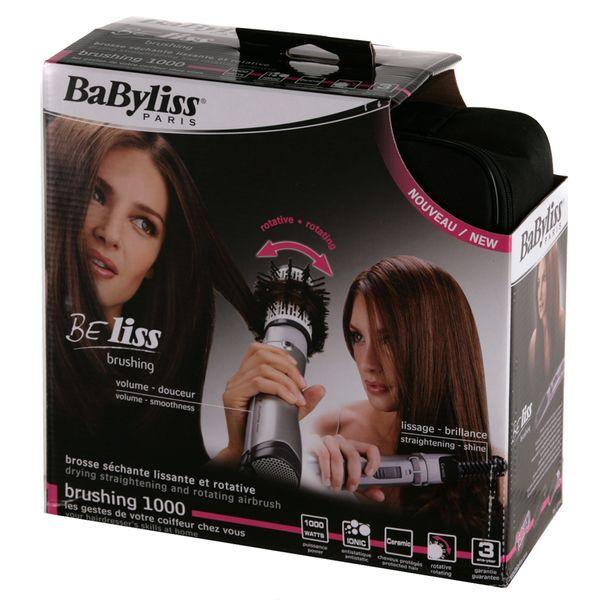 boite soufflante babyliss 2735e beliss brush 1000 ionic