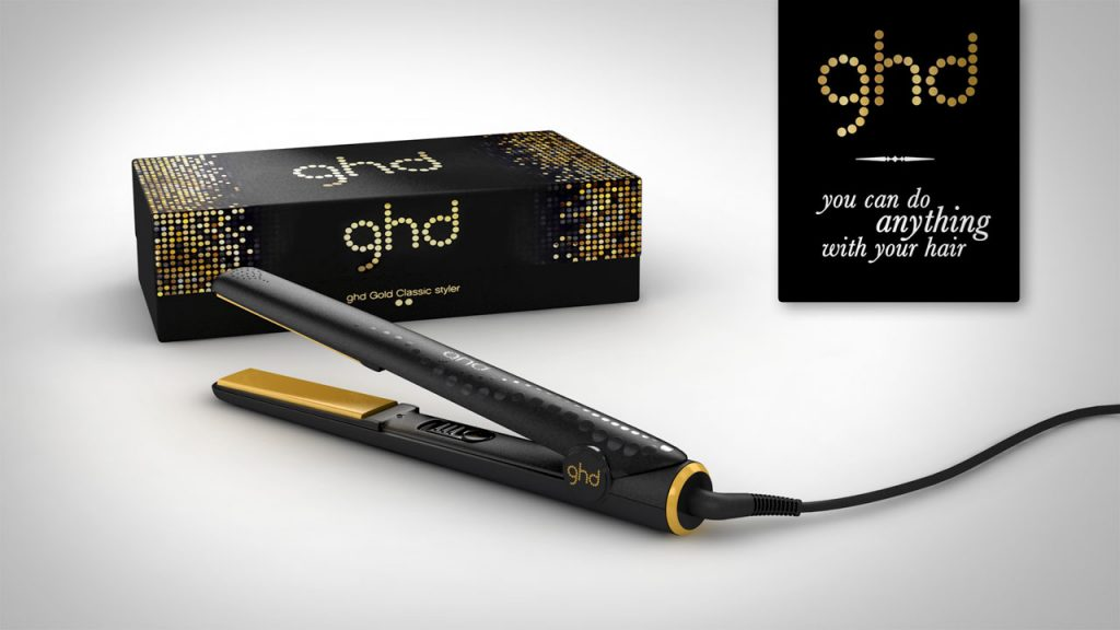 lisseur cheveux ghd gold classic