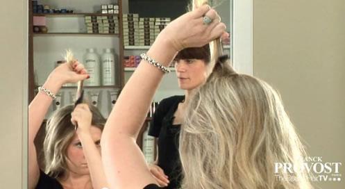 donner du volume aux cheveux - crêpage cheveux