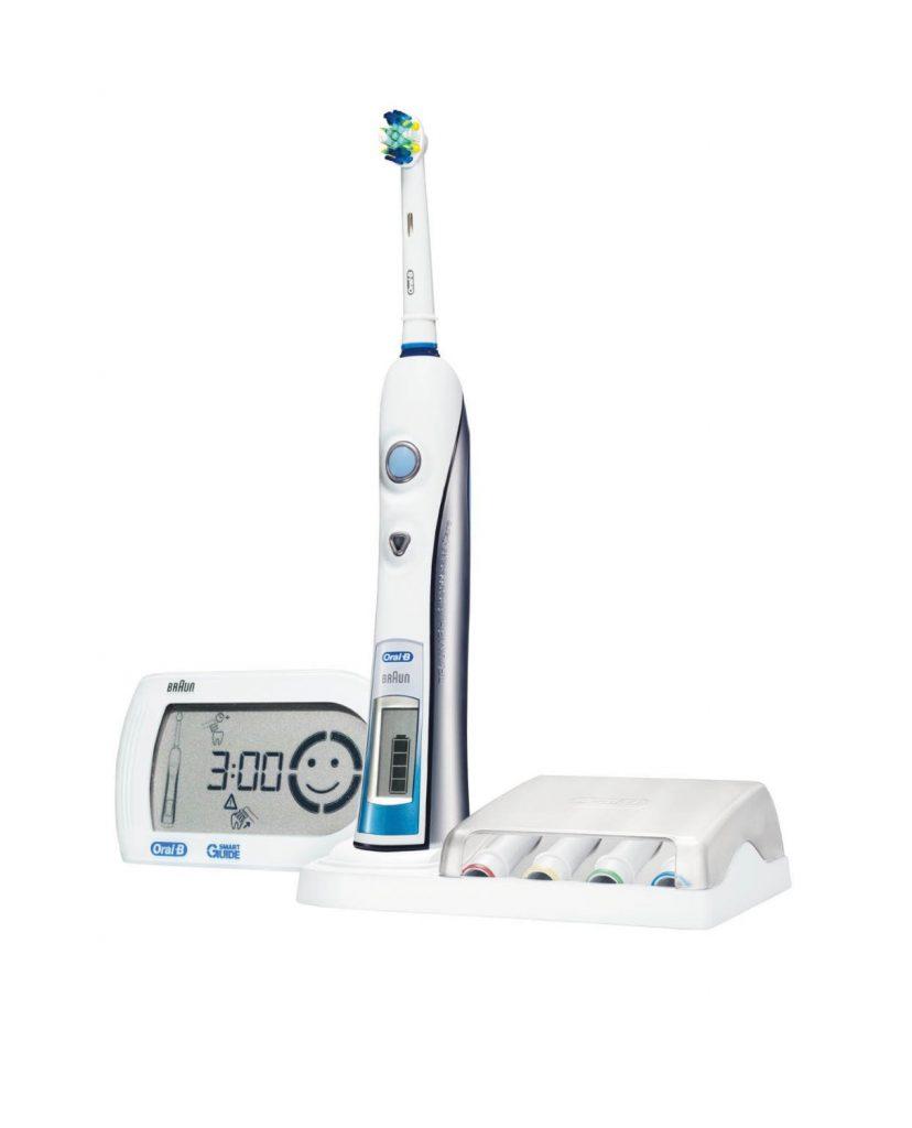 test brosse à dents électrique oral-b triumph 5000