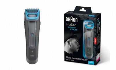 braun cruzer 6 test tondeuse barbe et cheveux