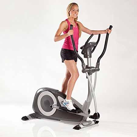 vélo elliptique kettler axos cross test