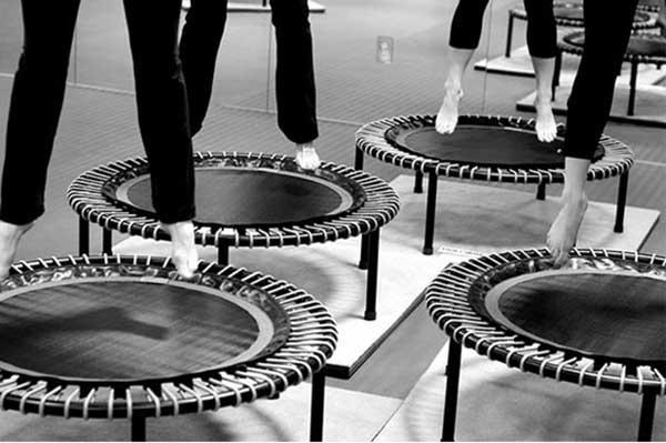 trampoline fitness pas cher