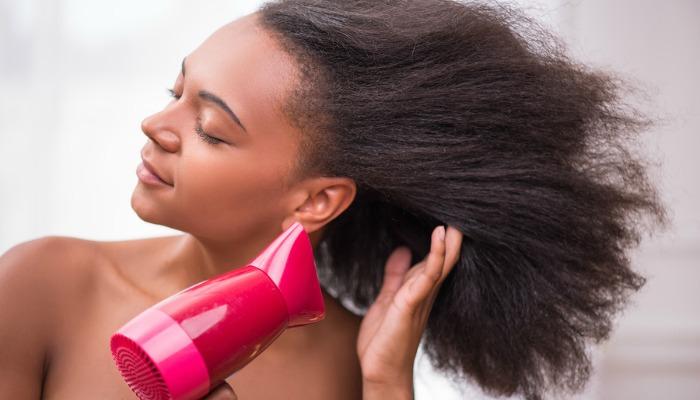 seche cheveux pour cheveux crepus