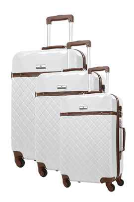 set 3 valises Platinium Trendy