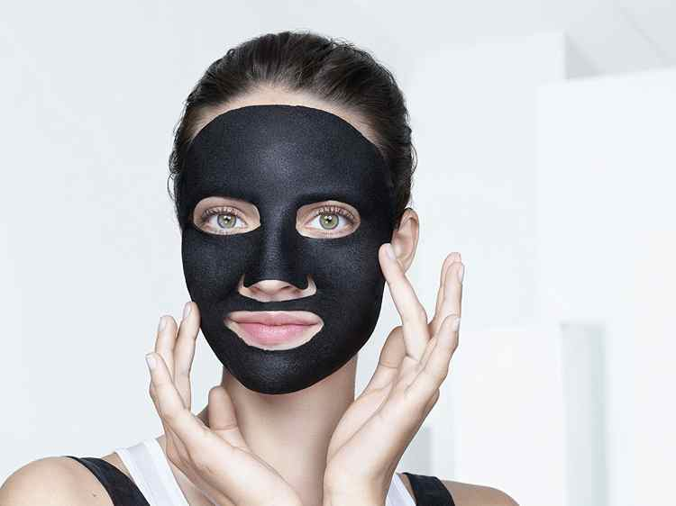 masque noir anti point noir