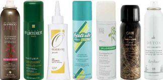 meilleur shampoing sec