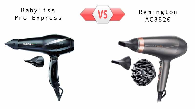 comparatif babyliss pro express ou remington ac8820