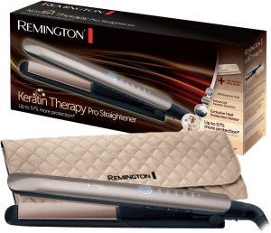 lisseur Remington S8590 Keratin Therapy - le soin à la kératine intégré